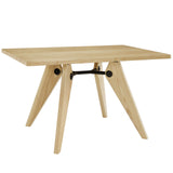 Modway Furniture Landing Wood Modern Dining Table , dining tables - Modway Furniture, Minimal & Modern - 2