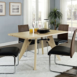 Modway Furniture Landing Wood Modern Dining Table , dining tables - Modway Furniture, Minimal & Modern - 4