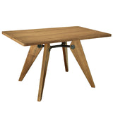 Modway Furniture Landing Wood Modern Dining Table , dining tables - Modway Furniture, Minimal & Modern - 6