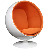 Modway Furniture Modern Kaddur Lounge Chair Orange, Chairs - Modway Furniture, Minimal & Modern - 16