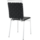 Modway Furniture Fuse Modern Dining Side Chair , Dining Chairs - Modway Furniture, Minimal & Modern - 3