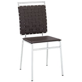 Modway Furniture Fuse Modern Dining Side Chair Brown, Dining Chairs - Modway Furniture, Minimal & Modern - 5