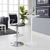 Modway Furniture Fuse Adjustable Modern Bar Stool , Bar Stools - Modway Furniture, Minimal & Modern - 4