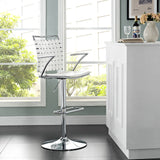 Modway Furniture Fuse Adjustable Modern Bar Stool , Bar Stools - Modway Furniture, Minimal & Modern - 8
