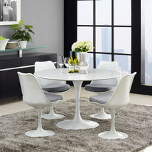 "Modway Furniture Lippa 47"" Wood Top Modern White Dining Table EEI-1118-WHI-Minimal & Modern"