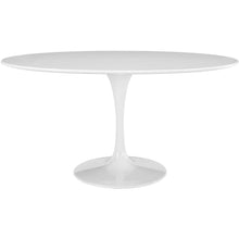 "Modway Furniture Lippa 60"" Oval-Shaped Wood Top Modern White Dining Table EEI-1121-WHI-Minimal & Modern"