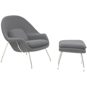 Modway Furniture Modern W Fabric Lounge Chair EEI-113-Minimal & Modern