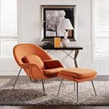 Modway Furniture Modern W Fabric Lounge Chair , Chairs - Modway Furniture, Minimal & Modern - 23