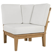 Modway Furniture Modern Marina Outdoor Patio Teak Corner Sofa - EEI-1146