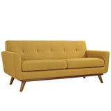 Modway Furniture Engage Upholstered Loveseat Citrus, Sofas - Modway Furniture, Minimal & Modern - 29