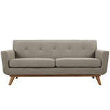 Modway Furniture Engage Upholstered Loveseat , Sofas - Modway Furniture, Minimal & Modern - 26