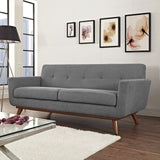 Modway Furniture Engage Upholstered Loveseat , Sofas - Modway Furniture, Minimal & Modern - 24