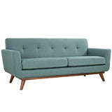 Modway Furniture Engage Upholstered Loveseat Laguna, Sofas - Modway Furniture, Minimal & Modern - 17