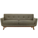 Modway Furniture Engage Upholstered Loveseat Oatmeal, Sofas - Modway Furniture, Minimal & Modern - 13