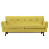 Modway Furniture Engage Upholstered Loveseat Sunny, Sofas - Modway Furniture, Minimal & Modern - 9