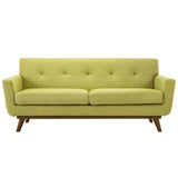 Modway Furniture Engage Upholstered Loveseat Wheatgrass, Sofas - Modway Furniture, Minimal & Modern - 5
