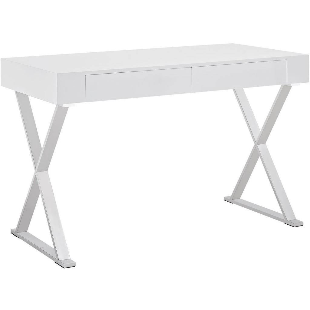 Modway Furniture Modern Sector Contemporary Office Writing Work Desk - Minimal & Modern - 1