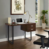 Modway Furniture Modern Writing Turn Office Work Computer Desk - Minimal & Modern - 9