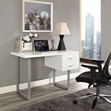 Modway Furniture Modern Writing Turn Office Work Computer Desk - Minimal & Modern - 5