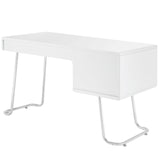 Modway Furniture Modern Contemporary Swing Office Writing White Work Desk - Minimal & Modern - 3