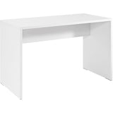 Modway Furniture Modern White Laminate Bridge Office Writing Desk - Minimal & Modern - 1