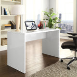 Modway Furniture Modern White Laminate Bridge Office Writing Desk - Minimal & Modern - 4