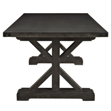 Modway Furniture Anvil Wood Modern Black Dining Table EEI-1198-BLK-Minimal & Modern