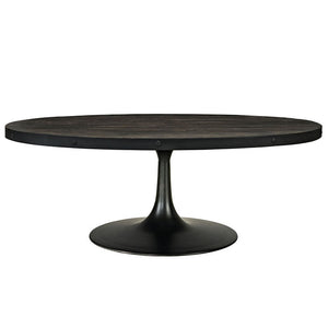 Modway Furniture Modern Industrial Drive Wood Top Metal Coffee Table EEI-1204-Minimal & Modern