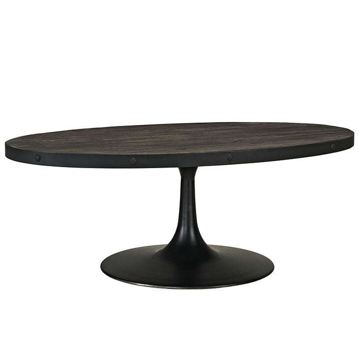 Modway Furniture Modern Industrial Drive Wood Top Metal Coffee Table , Coffee  Tables   Modway Furniture ...