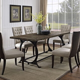 Modway Furniture  Effuse Wood Top Modern Brown Dining Table , dining tables - Modway Furniture, Minimal & Modern - 4