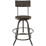 Modway Furniture Procure Wood Modern Bar Stool , Bar Stools - Modway Furniture, Minimal & Modern - 7
