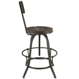 Modway Furniture Procure Wood Modern Bar Stool , Bar Stools - Modway Furniture, Minimal & Modern - 8