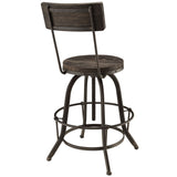 Modway Furniture Procure Wood Modern Bar Stool , Bar Stools - Modway Furniture, Minimal & Modern - 9