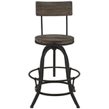 Modway Furniture Procure Wood Modern Bar Stool , Bar Stools - Modway Furniture, Minimal & Modern - 2