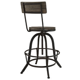 Modway Furniture Procure Wood Modern Bar Stool , Bar Stools - Modway Furniture, Minimal & Modern - 4