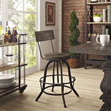 Modway Furniture Procure Wood Modern Bar Stool , Bar Stools - Modway Furniture, Minimal & Modern - 5
