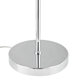 Modway Furniture Arena Table Lamp EEI-1219-SLV-Minimal & Modern