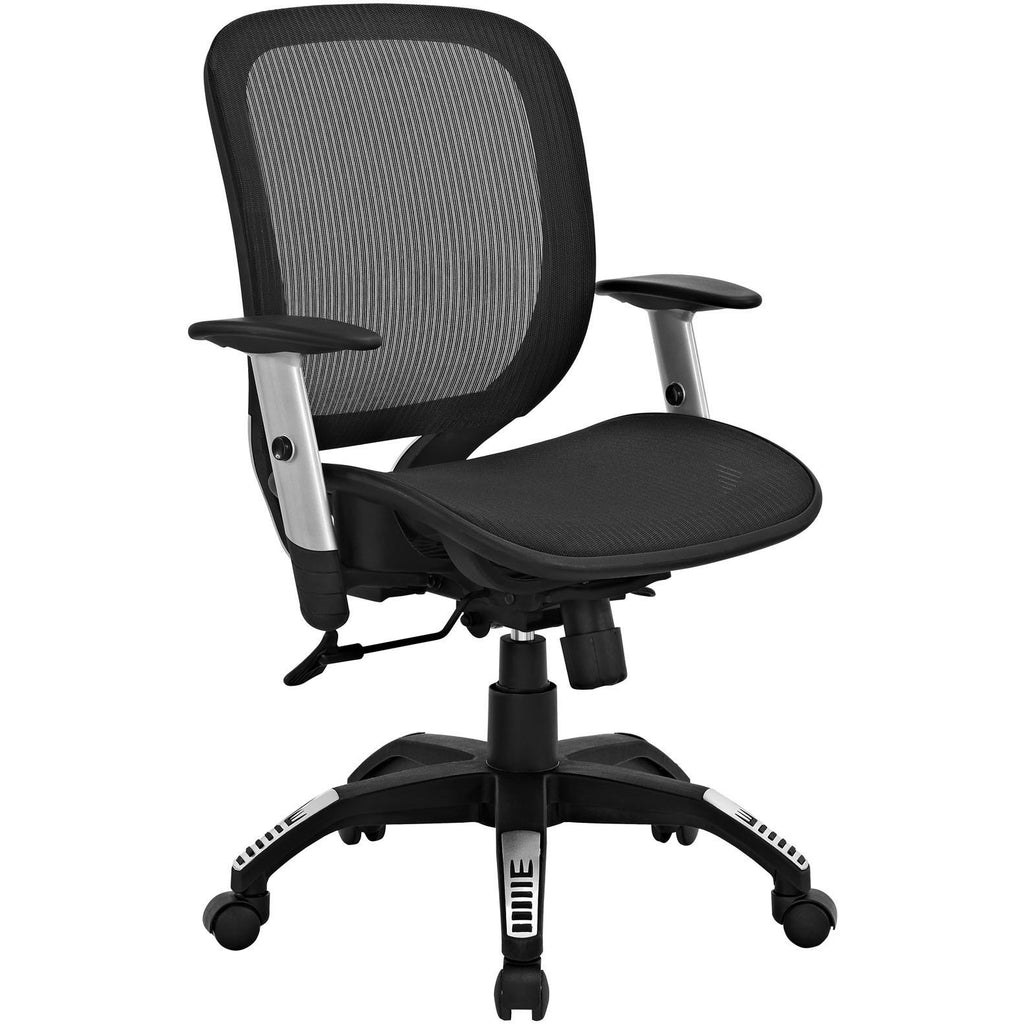 Modway Modern Arillus All Mesh Adjustable Computer Office Chair - Minimal & Modern - 1