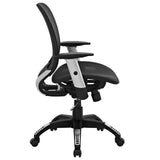 Modway Modern Arillus All Mesh Adjustable Computer Office Chair - Minimal & Modern - 2