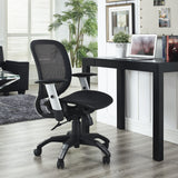 Modway Modern Arillus All Mesh Adjustable Computer Office Chair - Minimal & Modern - 5