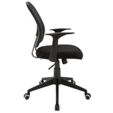 Modway Modern Poise Adjustable Computer Office Chair - Minimal & Modern - 2