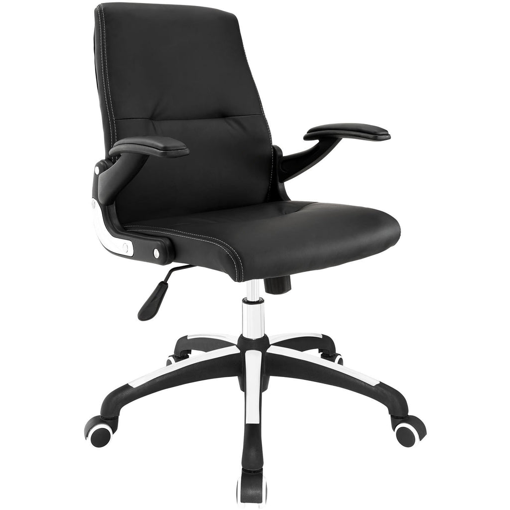 Modway Modern Premier High Back Adjustable Computer Office Chair - Minimal & Modern - 1