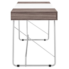 Modway Furniture Modern Metal and Wood Panel Office Writing Desk EEI-1321-Minimal & Modern
