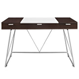 Modway Furniture Modern Metal and Wood Panel Office Writing Desk - Minimal & Modern - 7