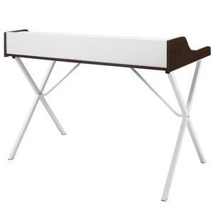 Modway Furniture Modern Office Compact Writing Small Office Desk EEI-1327-Minimal & Modern