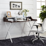 Modway Furniture Modern Office Compact Writing Small Office Desk - Minimal & Modern - 15