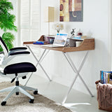 Modway Furniture Modern Office Compact Writing Small Office Desk - Minimal & Modern - 10