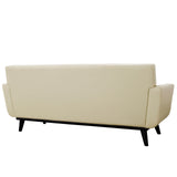 Modway Furniture Engage Bonded Leather Loveseat , Sofas - Modway Furniture, Minimal & Modern - 3