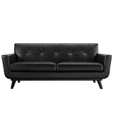 Modway Furniture Engage Bonded Leather Loveseat , Sofas - Modway Furniture, Minimal & Modern - 10