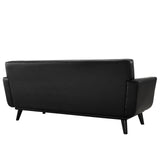 Modway Furniture Engage Bonded Leather Loveseat , Sofas - Modway Furniture, Minimal & Modern - 11